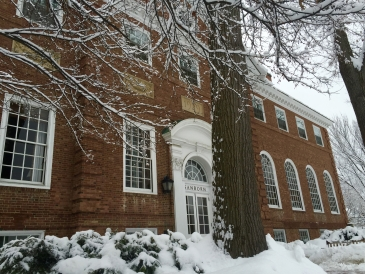 Sanborn in winter