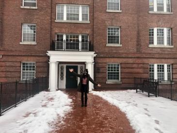 Finally reached my winter dorm!