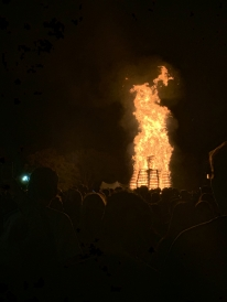 Homecoming bonfire!