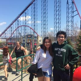 people in six flags