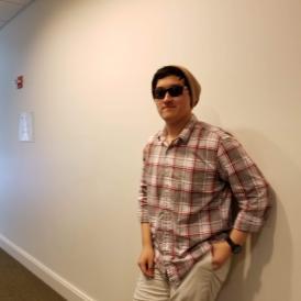 guy wears sunglasses