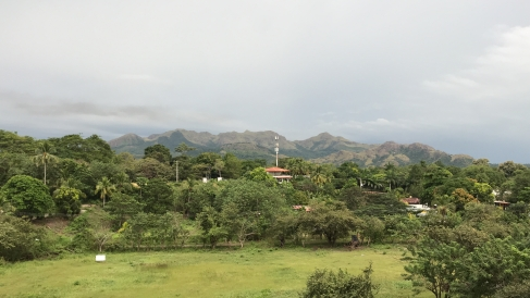 The mountains of Panamá