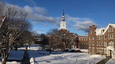 Dartmouth in the Winter!