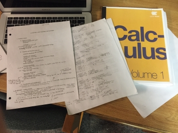 Calculus Worksheets