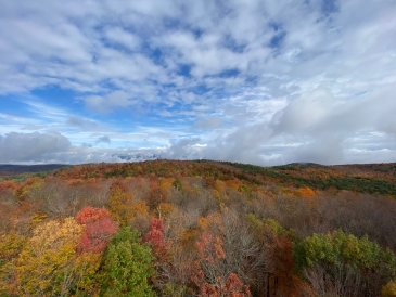 Gorgeous Fall Foliage from Gile Mountain