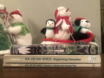 Learning Hawaiian using these books
