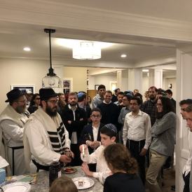 high holidays at Chabad at Dartmouth