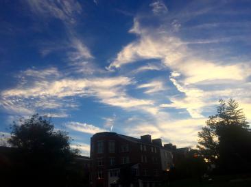 The sky over Kemeny