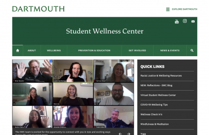 The Student Wellness Center
