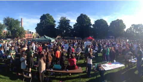 Photo of the Student Involvement fair