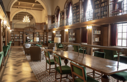 A picture of the tower room - one of my favourite study spots!