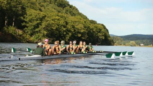 Rowing on the Connecticut