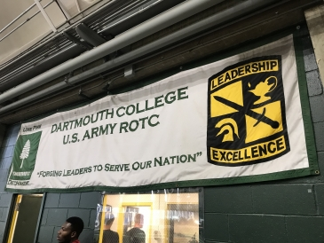 Dartmouth ROTC Banner
