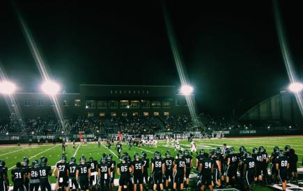 football at night