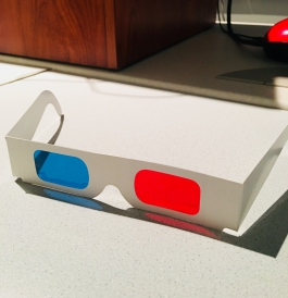 Using 3D glasses in my geography class!