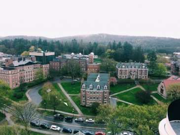 View from Baker tower
