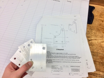 Stirling Engine Plates