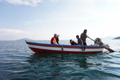 Fishing at Amantaní