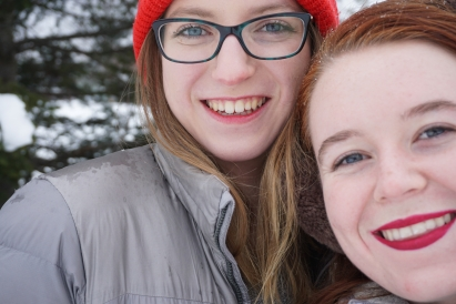 Isabel and Ellen '20
