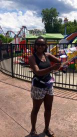Playing tourist on a Programming Board sponsored trip to Six Flags New England