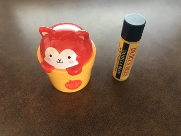 Lip balm and Hand cream