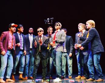 boys singing hearltess