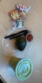 Avocado and avocado smoothie