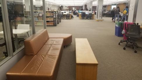 Nap location: Library