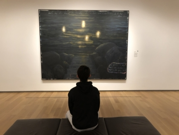 Shuyi at the Hood Museum of Art