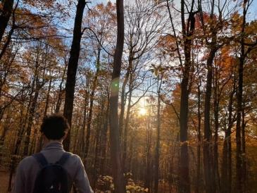 Antonio hiking Gile