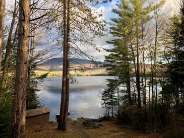 View at Hinman Cabin