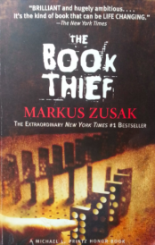 the cover of the book thief