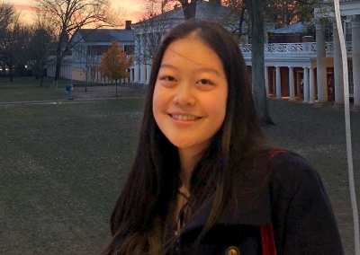 A photo of tour guide Emily Chen