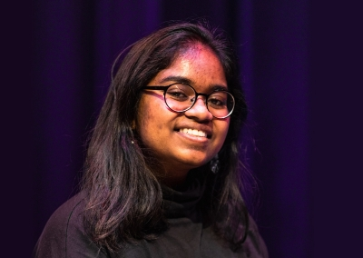 A photo of Angie Janumala '22