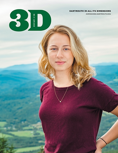 A photo of the April 2019 issue of 3D Magazine  - cover