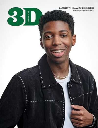 A photo of the August 2019 issue of 3D Magazine  - cover