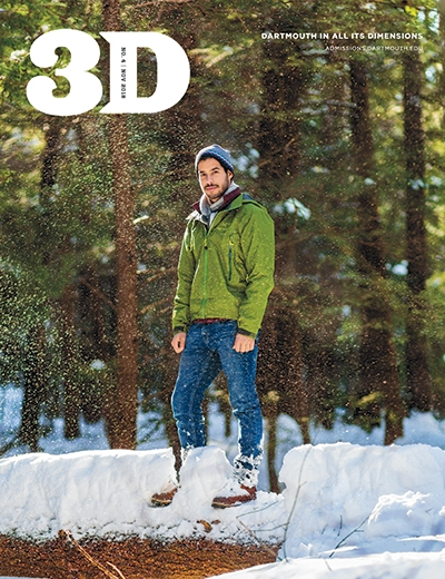 A photo of the November 2018 issue of 3D Magazine  - cover