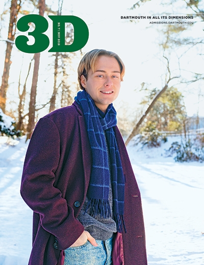 An image of the cover of the November 2019 3D Magazine