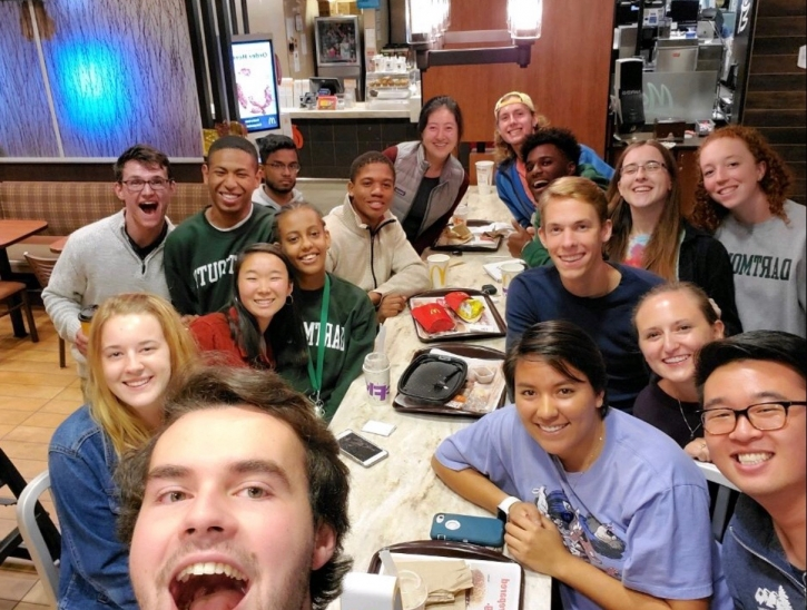 The Christian Union Group at McDonalds!