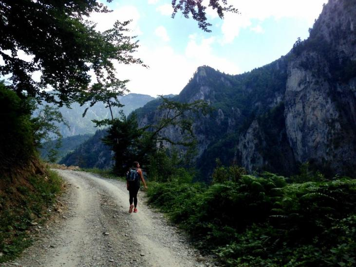 mountains rrugova hiking kosovo