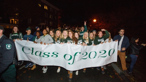 Alumni and their families have offered more than 50 job opportunities to new graduates in response to President Philip J. Hanlon's appeal to rally around the Class of 2020.