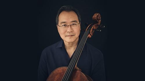 Yo-Yo Ma with a cello