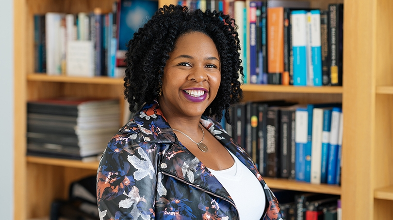 A photo of professor Jedidah Isler