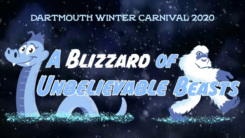 The artwork for the 2020 Winter Carnival theme