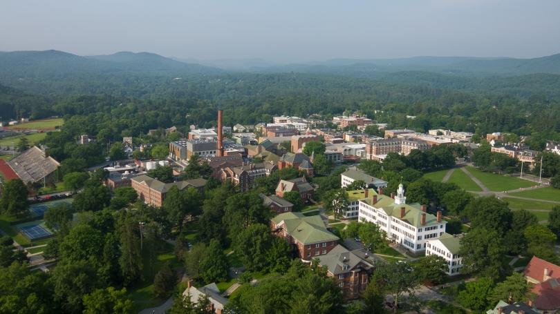 Aerial Shot of Dartmouth Campus