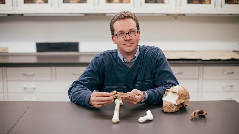 Associate Professor of Anthropology Jeremy DeSilva.
