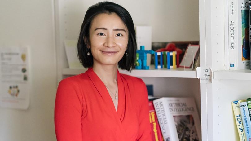 Assistant Professor of Computer Science Zia Zhou