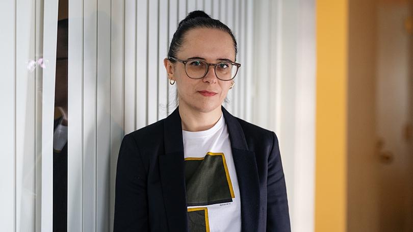 Yuliya Komska portrait