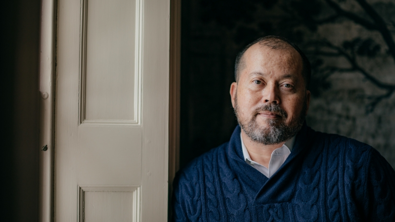 In addition to teaching and writing reviews and stories for The New York Times and elsewhere, Associate Professor Alexander Chee is currently planning three novels.