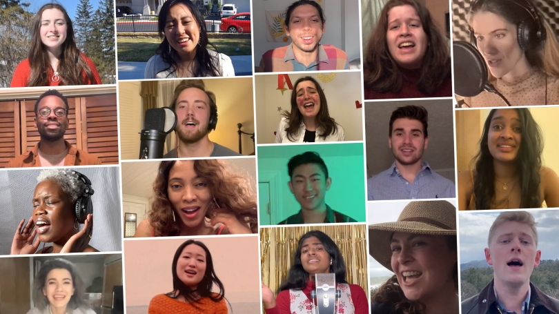 This year's field of 20 Dartmouth Idol semifinalists includes undergraduates as well as students from Tuck and Geisel.